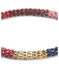 Lucy Folk | Red Multi Poison Ivy Chain Bracelet | Lyst