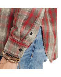 Denim & Supply Ralph Lauren | Brown Flannel Utility Shirt | Lyst