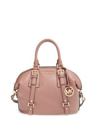 MICHAEL Michael Kors | Pink 'medium Bedford' Satchel | Lyst