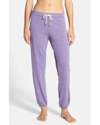 Honeydew Intimates | Purple Slouchy Sweatpants | Lyst