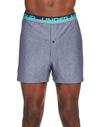 Under Armour | Gray 'original Series' Heatgear Boxers for Men | Lyst