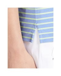 Ralph Lauren Golf | Yellow Tailored Golf-fit Striped Polo | Lyst