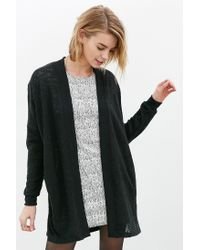 Silence + Noise | Black Cozy Cardigan | Lyst
