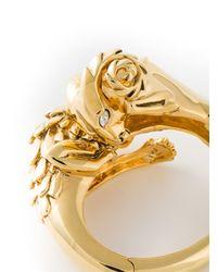 Giuseppe Zanotti   Metallic Lion Bracelet   Lyst