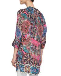 Tolani - Multicolor Vanessa Floral-print Tunic - Lyst