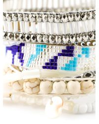 Hipanema | White 'honolulu' Bracelet | Lyst