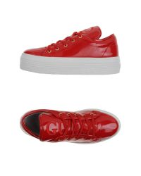 Guess Red Low-tops & Trainers