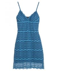 Cosabella | Blue Ceylon Short Dress | Lyst