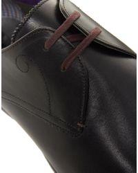 Ted Baker Black Patrii Shoes for men