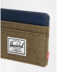 Herschel Supply Co. | Green Charlie Card Holder for Men | Lyst