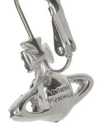 Vivienne Westwood - Metallic Grace Bas Relief Swarovski Orb Earrings - Lyst