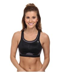 Champion | Black All-out Support Wireless Sports Bra | Lyst