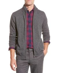 Bonobos | Gray Cashmere Zip Sweater for Men | Lyst