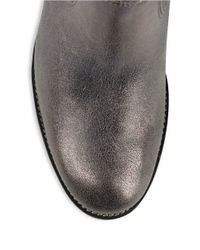 Paul Green - Metallic Dexter Leather Ankle Boots - Lyst