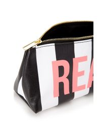 Forever 21 - White Real/Fake Makeup Bag - Lyst