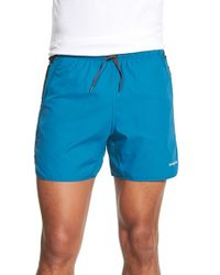 Patagonia | Blue Strider Pro Running Shorts for Men | Lyst