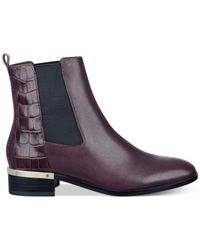 Ivanka Trump | Purple Eday Chelsea Booties | Lyst
