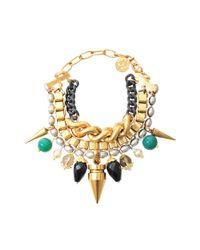 Ela Stone - Metallic Angelica Stones Necklace - Lyst