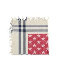 Forever 21 - Red American Flag Tasseled Scarf - Lyst