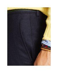 Polo Ralph Lauren | Blue Slim-fit Wool Flannel Trouser for Men | Lyst
