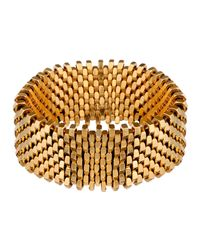 Alice Menter | Metallic Isla Cuff Gold Plated | Lyst