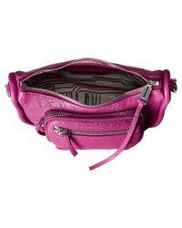 She + Lo | Purple Silver Lining Camera Bag - Bordeaux | Lyst
