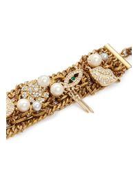 Lulu Frost - Metallic Bord La Mer Multi-chain Bracelet - Lyst
