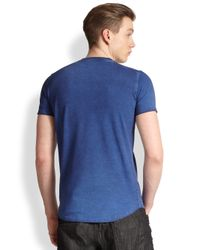 DSquared² - Blue Severely Punished Tee for Men - Lyst