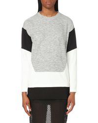 5cm | Gray Colour-block Jersey Sweatshirt | Lyst