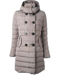 Moncler | Natural Garbet Padded Jacket | Lyst
