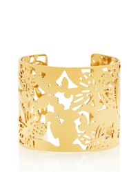 kate spade new york - Metallic All A Flutter Cuff - Lyst