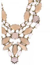 BaubleBar - Pink Fiji Bib-opal - Lyst