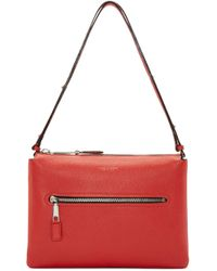 Marc Jacobs - Red Leather Double Pouch Incognito Bag - Lyst