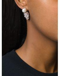 Philipp Plein   Pink 'love Is The Key' Earrings   Lyst