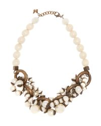 Max Mara | Natural Sovarna Pearl Beaded Necklace | Lyst