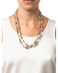 Weekend by Maxmara - White Medea Necklace - Lyst