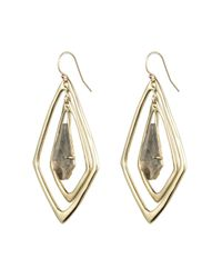 Alexis Bittar - Metallic Kinetic Gold Orbitting Tear Earring - Lyst