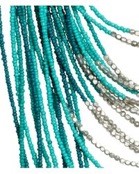 H&M | Green Multistrand Necklace | Lyst