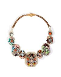 Shourouk | Multicolor Fall Multicolour Necklace | Lyst