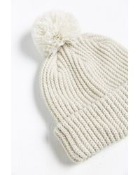 Urban Outfitters - Natural Uo Pom Beanie for Men - Lyst