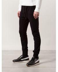 Zanerobe - Black Track Trousers for Men - Lyst