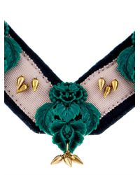 Lulu Frost | Green Katherine Bib Necklace | Lyst