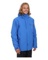 Quiksilver | Blue Mission Plain Snow Jacket for Men | Lyst