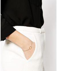 Dogeared | Metallic Gold Plated Original Karma Bracelet | Lyst