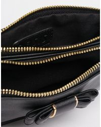 Oasis - Black Bow Detail Coin Purse - Lyst