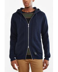 Globe - Black Stanley Hooded Zip-up Sweater for Men - Lyst