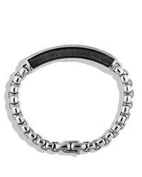 David Yurman - Metallic Exotic Stone Id Bracelet With Pietersite for Men - Lyst