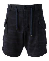 Emporio Armani | Blue Cargo Shorts for Men | Lyst