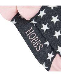 Hobbs - Pink Large Star Sock - Lyst