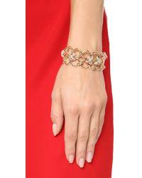 Alexis Bittar | Metallic Bound Link Cuff Bracelet | Lyst